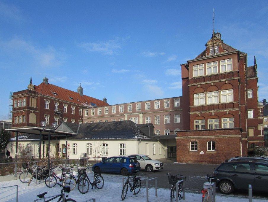 Main building of the Brandenburg Municipal Hospital
