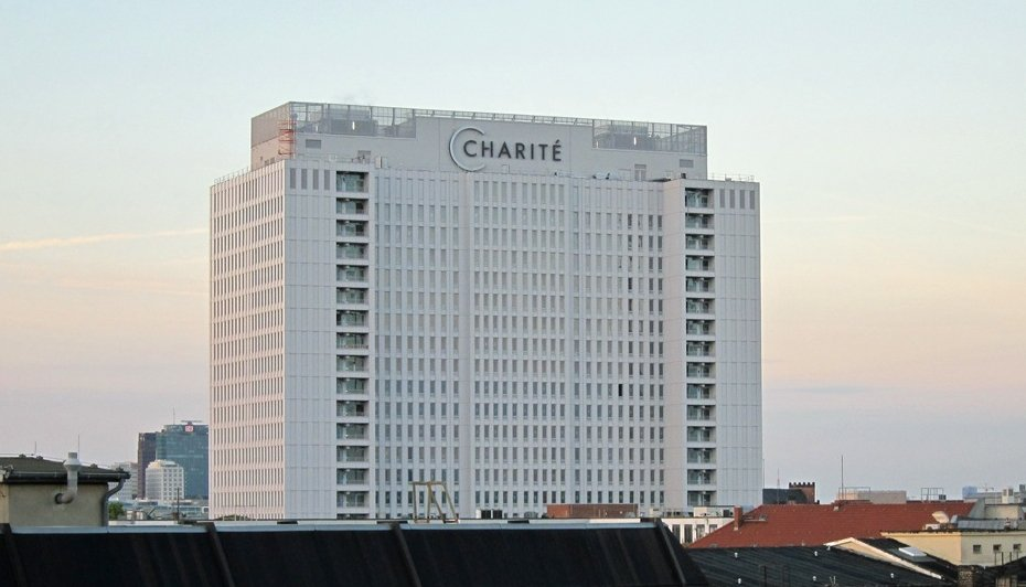 building of the charite university of medicine berlin