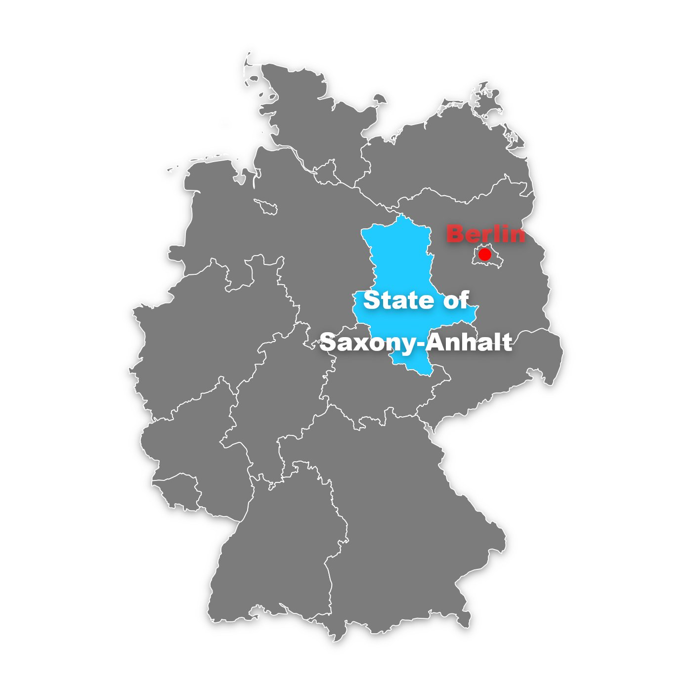 state of saxony-anhalt in germany