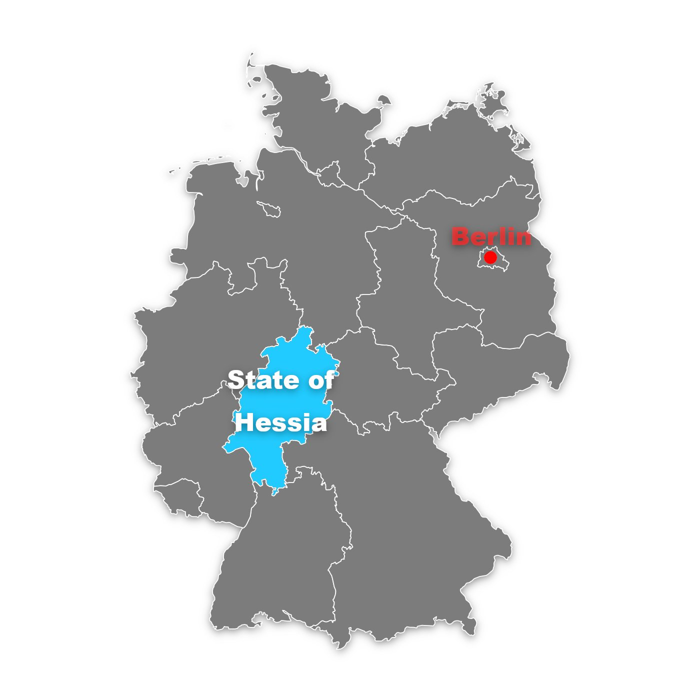 state of hesse (hessia) in germany