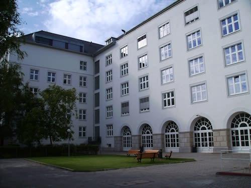 HWR Berlin courtyard