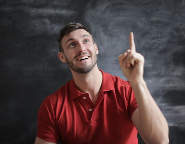 man thinking about which is the best university in Germany