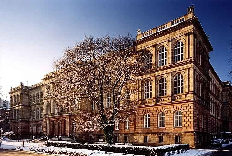 Main Building of the RWTH Aachen. It was built in 1870