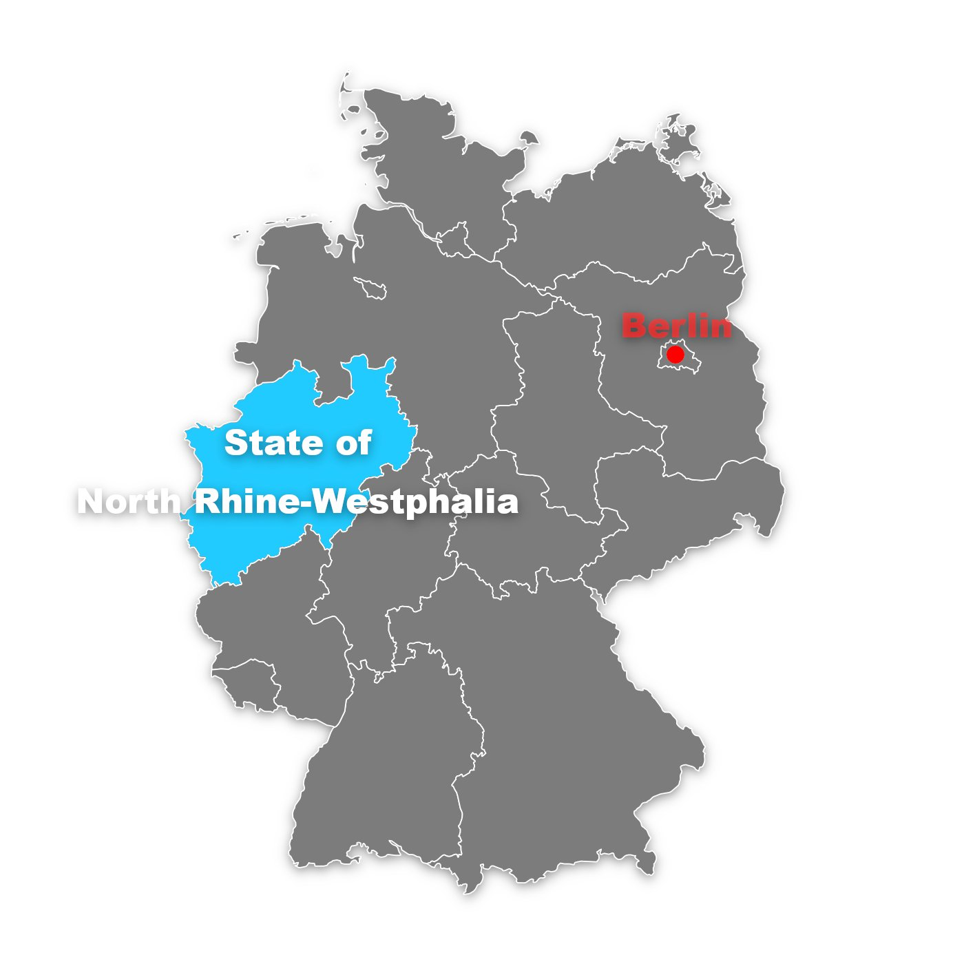 state of north rhine-westphalia in germany